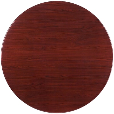 Flash Furniture 48 Round Resin Table Top; Mahogany (TPMAH48RD)