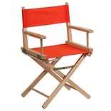 Beechwood Frame Stnd Directors Chair in Red