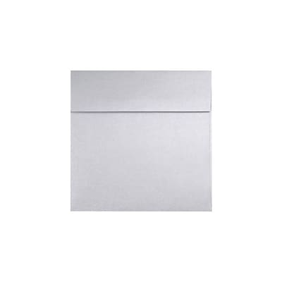 LUX® Square Envelopes, 8 x 8, Silver Metallic, 50ct (8565-06-50)