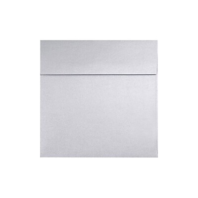 LUX 6 1/4 x 6 1/4 Square 1000/Box) 1000/Box, Silver Metallic (8530-06-1M)