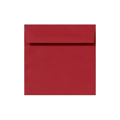 LUX 7 x 7 Square Envelopes 1000/Box) 50/Box, Ruby Red (LUX-8545-18-50)