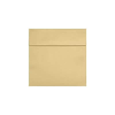 LUX® 3 1/4 x 3 1/4 Square Envelopes with Peel and Press, Blonde Metallic, 1000/PK (8503-M07-1M)