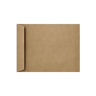 LUX® Open End Envelope, 6 x 9, Grocery Bag Brown, 1,000ct (1644-GB-1M)