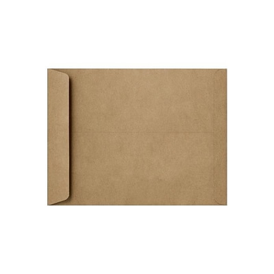 LUX® Open End Envelope, 6H x 9W, Grocery Bag Brown, 250/Pack (1644-GB-250)