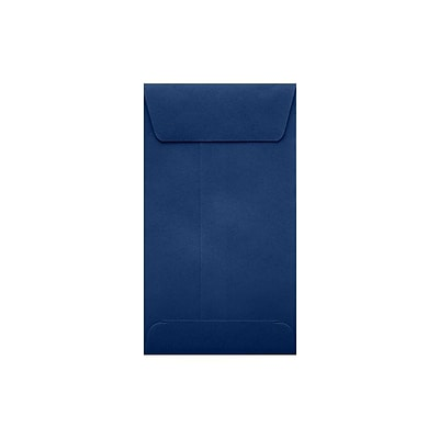 LUX® #5 1/2 Coin Envelopes with Peel and Seal; 3 1/8H x 5 1/2W, Navy Blue, 500Pk (512CO-103-500)
