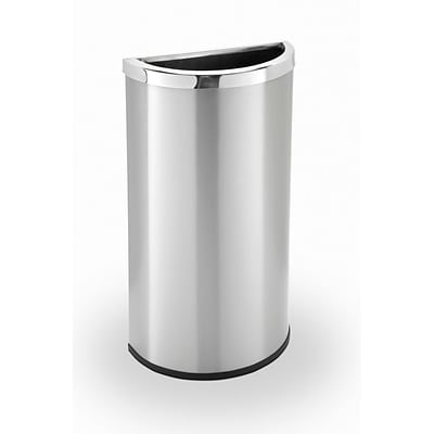Commercial Zone Products® Precision Series® Half-Moon 8gal Waste Receptacle (780929)