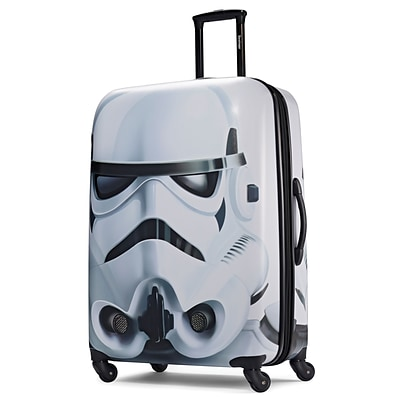 American Tourister Disney Star Wars Storm Trooper 28 Hardside ABS/PC split case shell (65778-4608)