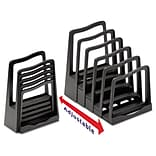 Avery Adjustable File Rack; Black
