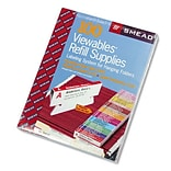 Smead Viewables Pack Refill Labeling System, 100/Box