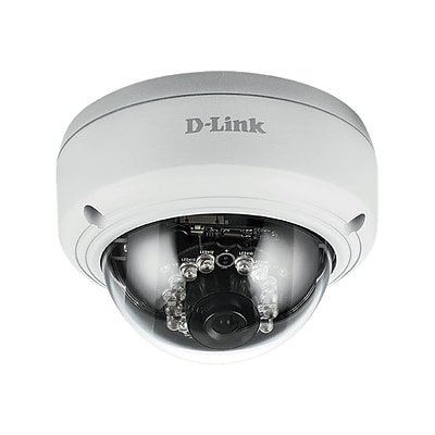 D-Link ® DCS-4602EV Wired Full HD Dome Network Camera; White