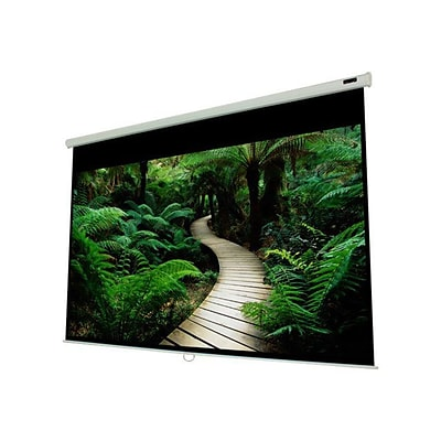 EluneVision 100 4:3 Triton Manual Pull-Down Projector Screen