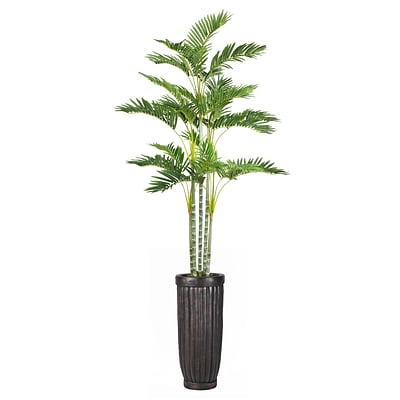 Laura Ashley 89 Tall Palm Tree in Planter (VHX113214)
