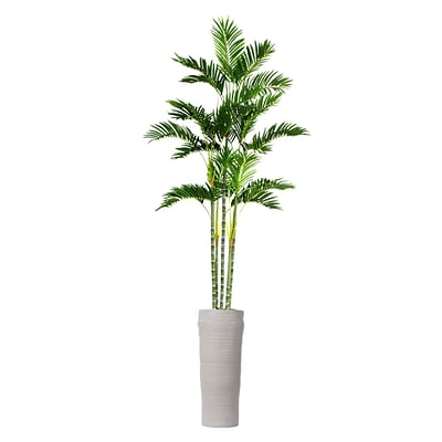 Laura Ashley 89 Tall Palm Tree in Planter