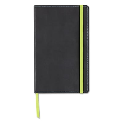 Neenah Paper Astrobrights Journal, Ruled, 5 1/8 x 8 1/4, Black, 240 Sheets