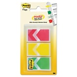 Post-it® Priority Arrow Flags in Assorted Colors; 60/Pack