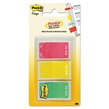 Post-it® Pre-Printed Priority Flags; To Do, 60 Flags/Pack