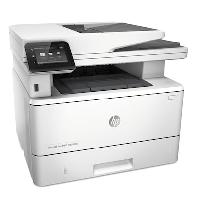 HP® LaserJet Pro M426fdw Wireless All-in-One Monochrome Laser Printer with duplex printing (F6W15A)
