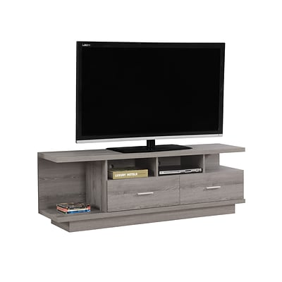 Monarch Specialties TV Stand Dark Taupe (I 2675)