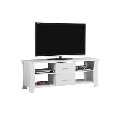 Monarch Specialties TV Stand White (I 2684)
