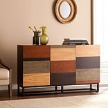 Southern Enterprises Harvey 31 Credenza, Multi-Tonal (CM2348)