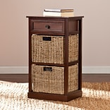 Southern Enterprises Kenton 2-Basket Storage Shelf (HZ6752)