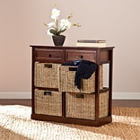 Southern Enterprises Kenton 4-Basket Storage Chest (HZ6754)