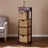Southern Enterprises Kenton 4-Basket Storage Tower (HZ6755)