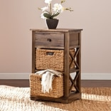 Southern Enterprises Jayton 2-Basket Storage Shelf (HZ6852)