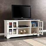 Southern Enterprises Remington TV/Media Stand, White (MS9908)