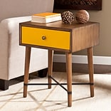 Southern Enterprises Norwich Accent Table, Yellow (OC0315)