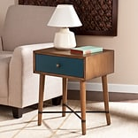 Southern Enterprises Norwich Accent Table, Blue (OC0316)