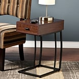 Southern Enterprises Porten Side Table with Power and USB (OC9027)