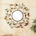 Southern Enterprises Decorative Metallic Leaf Wall Mirror (WS9811)