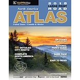 Universal Map North America Large Print Road Atlas