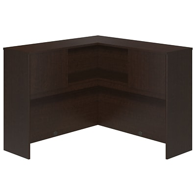 Bush Business Westfield Elite 48W Corner Hutch, Mocha Cherry