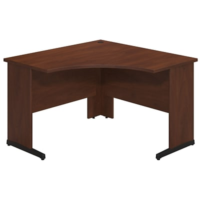 Bush Business Westfield Elite 48W x 48D C-Leg Corner Desk, Hansen Cherry, Installed