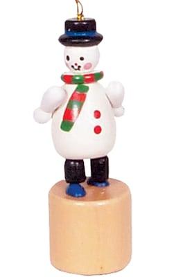 Alexander Taron Snowman ''Push'' Toy