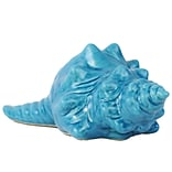 Urban Trends Ceramic Figurine; 10x6x4, Blue