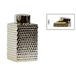Ceramic Canister 5.75x5.75x9.75 Champagne