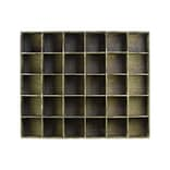 Urban Trends Wood Shelf; 40x8x32.5 Brown