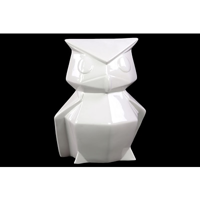 Urban Trends Ceramic Figurine; 7.5L x 6.75W x 10.5H, White (46663)