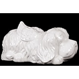 Ceramic Figurine; 8.5x5.25x4.75 White