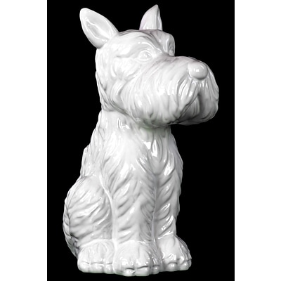 Urban Trends Ceramic Figurine; 8 x 4.5 x 9.5, White (46732)