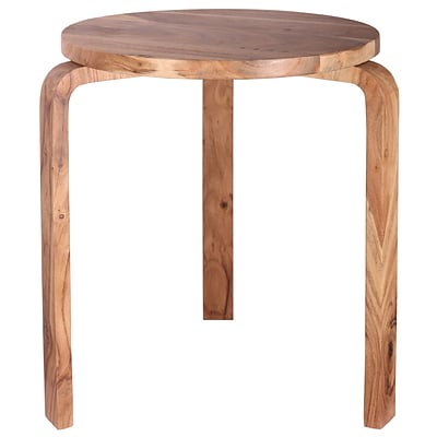 Kenroy Home Stylus Accent Table Natural Sanded Finish (65034NAT)
