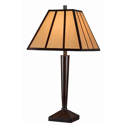 Kenroy Home Montana Table Lamp Bronze Finish with Copper Highlights (32664BRZC)