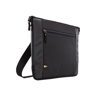 Case Logic ® Intrata Black Polyester 14 to 14.1 Laptop Bag (INT114BLACK)