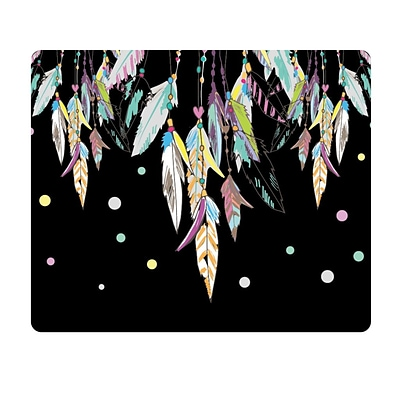 OTM Essentials Hipster Prints Mouse Pad, Dream Catcher Color, Black (OP-MPV1BM-HIP-09)