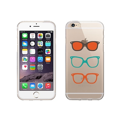 OTM Essentials Hipster Prints Clear Phone Case for Use with iPhone 6 Plus; Shades (IP6PV1CLR-HIP-06)