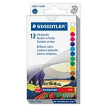Staedtler karat 2420 Oil Pastel, 2.8 (70 mm) Crayon Length, 0.4 (11 mm) Crayon Diameter, Assorted