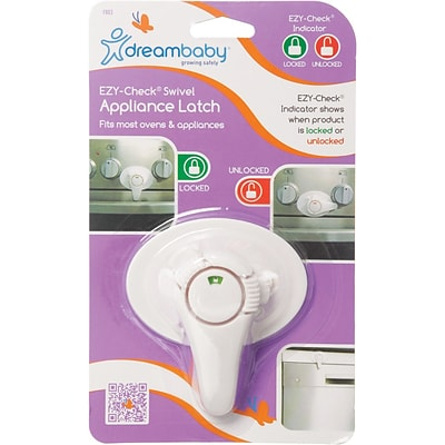 Dreambaby® EZ-Check Swivel Appliance Latch (L803)